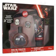Star Wars Star Wars rinkinys vaikams, (EDT 50 ml + dušo želė 150 ml + apyrankė)