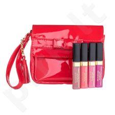 Elizabeth Arden Beautiful Color Luminous lūpų dažų rinkinys moterims, (lūpų dažai 4 ml + lūpų dažai 4 ml Coral Kiss + lūpų dažai 4 ml Passion Fruit + lūpų dažai 4 ml Iridescent Mauve + kosmetikos krepšys) , (Sweet Pink)