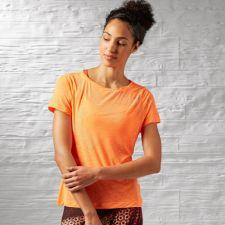 Marškinėliai treniruotėms Reebok Work Out Ready Slub Textured Tee W AJ3422