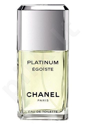 Chanel Egoiste Platinum, tualetinis vanduo (EDT) vyrams, 100 ml