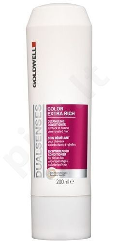 Goldwell Dualsenses Color Extra Rich kondicionierius, 200ml, kosmetika moterims
