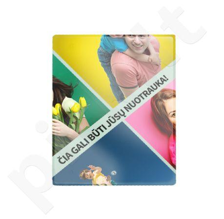 Stiklinis fotorėmelis su Jūsų pasirinkta nuotrauka (15x20 cm)