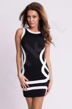 Emamoda suknelė - juoda 4910-2