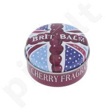 The Lūpų balzamas Company Brit Balm SPF15, kosmetika moterims, 15g, (Cherry)