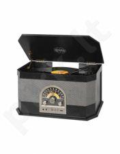 Trevi TT 1040 BT plokštelių grotuvas MP3/USB/BT juodas