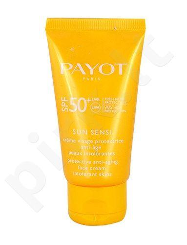 Payot Les Solaries Sun Sensi veido kremas SPF50, kosmetika moterims ir vyrams, 50ml