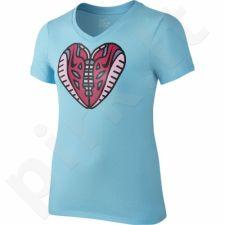 Marškinėliai Nike Free Heart V-Neck Junior 709132-409