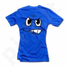 """Moteriški marškinėliai """"Piktas veidukas"""""""