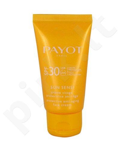 Payot Les Solaries Sun Sensi veido kremas SPF30, kosmetika moterims ir vyrams, 50ml