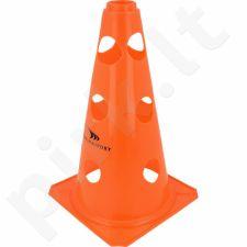 Stovelis su skylutėmis Yakima 23cm *oranžinė