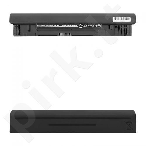 Qoltec Long Life Notebook Battery - Dell 1464 1564 | 4400mAh | 11.1V