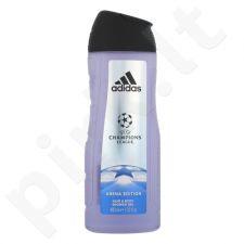 Adidas UEFA Champions League Arena Edition, dušo želė vyrams, 400ml