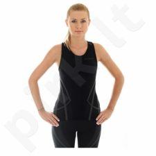 Marškinėliai Brubeck Fitness TA10150 juodas