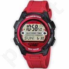 Vyriškas elektroninis Casio laikrodis W-756-4AVES