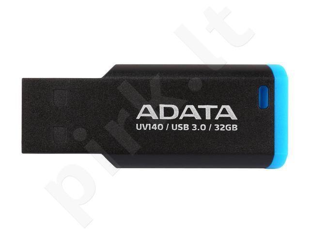Adata Flash Drive UV140, 32GB, USB 3.1, black and blue