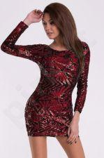 EVA&LOLA suknelė - raudona 10010-2