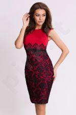 Emamoda suknelė - raudona 6817-11