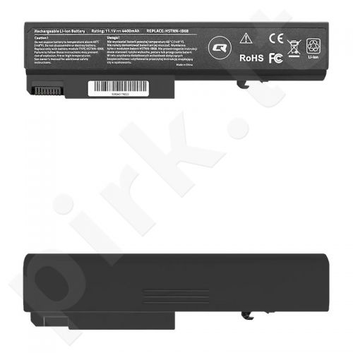Qoltec Long Life Notebook Battery - HP EliteBook 6930p | 4400mAh | 11.1V