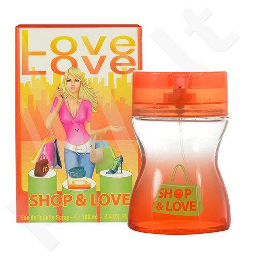 Morgan Love Love Shop & Love, tualetinis vanduo moterims, 100ml