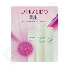 Shiseido Ibuki Starter Kit rinkinys moterims, (30ml Ibuki Gentle valiklis + 30ml Ibuki Softening Concentrate + 30ml Ibuki Refining Moisturizer)