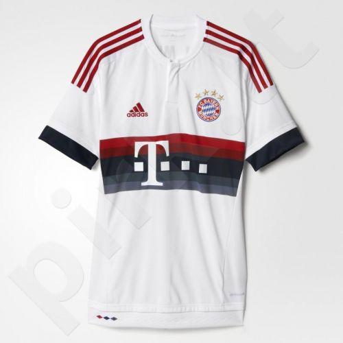 Marškinėliai futbolui Adidas Bayern Monachium M AH4790