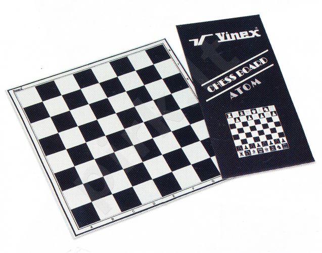 Šachmatų lenta CLASSIC, padengta PVC