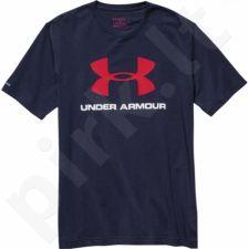 Marškinėliai treniruotėms Under Armour Sportstyle Logo T-Shirt M 1257615-410