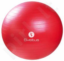 Gimnast. kamuolys GYMBALL 65cm red+pakuotė