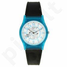 Vaikiškas, Moteriškas laikrodis Q&Q V400-022