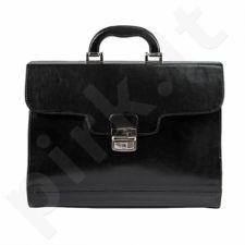 DAN-A T211 juoda rankinė, odinė, moterims