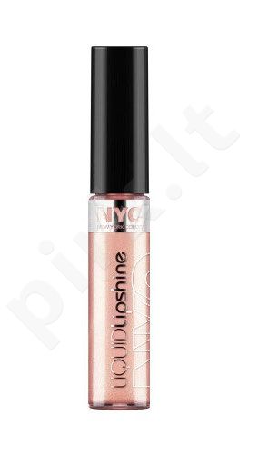 NYC New York Color Liquid lūpų blizgis, kosmetika moterims, 7,2ml, (575 Brighton Beach Peach)