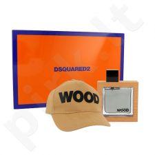 Dsquared2 Wood rinkinys vyrams, (EDT 50 ml +Dangtelis)