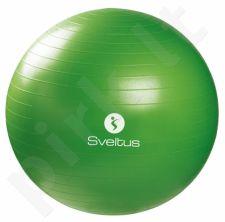 Gimnast. kamuolys GYMBALL 65cm green+pakuotė