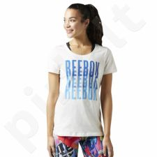 Marškinėliai Reebok Echo Scoop Chalk W BK6649