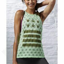 Marškinėliai treniruotėms Reebok Top Yoga Star Tank W AJ1158