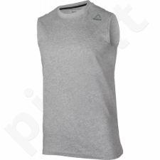 Marškinėliai treniruotėms Reebok Elements Sleeveless Tee M BK3346