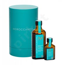 Moroccanoil Treatment, rinkinys plaukų aliejus ir serumas moterims, (plaukų Oil 100 ml + plaukų Oil 25 ml)