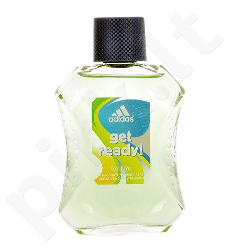 Adidas Get Ready!, losjonas po skutimosi vyrams, 100ml