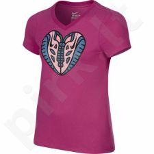 Marškinėliai Nike Free Heart V-Neck Junior 709132-616