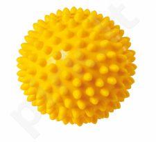 Masažinis kamuoliukas PICKLE BALL 9603 7cm yellow