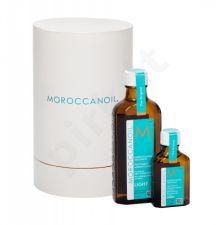 Moroccanoil Light, Treatment, rinkinys plaukų aliejus ir serumas moterims, (plaukų Oil 100 ml + plaukų Oil 25 ml)