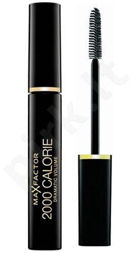 Max Factor 2000 Calorie Dramatic Volume blakstienų tušas, kosmetika moterims, 9ml, (Black Brown)