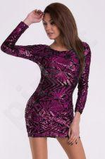 EVA&LOLA suknelė - violetinė 10010-3