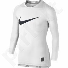 Marškinėliai termoaktyvūs Nike Pro Cool HBR Compression Long Sleeve Top Junior 726460-100
