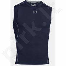Marškinėliai termoaktyvūs Under Armour HeatGear Compression Sleeveless 1257469-410
