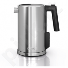 GRAEF. WK 900 With electronic control, Stainless steel, Stainless steel, 2000 W, 360° rotational base, 1.2 L
