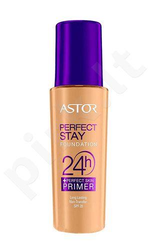Astor Perfect Stay Foundation 24h + Primer SPF20, kosmetika moterims, 30ml, (102 Golden Beige)