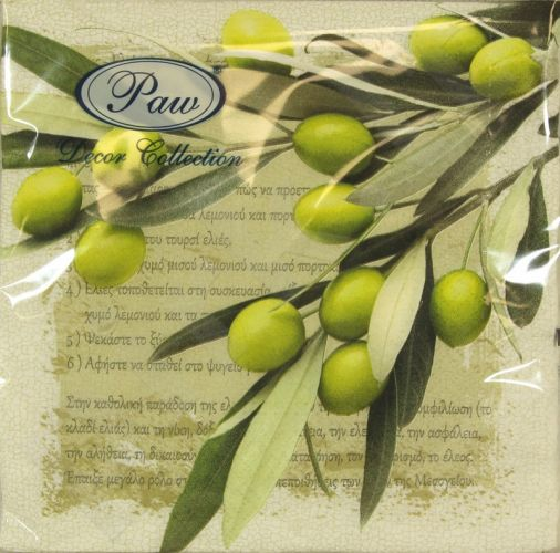 Servetėlės Greek Olives 101671