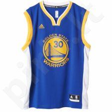 Marškinėliai krepšiniui Adidas Replica Golden State Warriors Stephen Curry M A21104