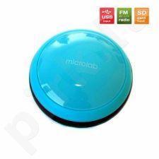 Mono kolonėlės Microlab MD112-BLUE 1.0 Portable, 1W, FM, SD jungtis